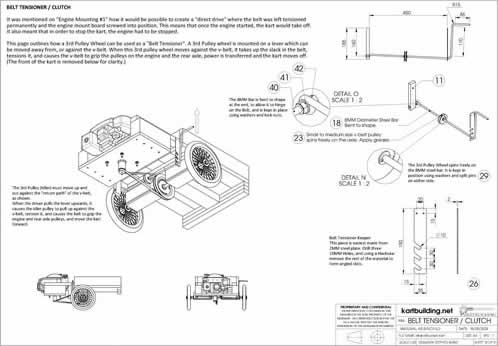 Lawnmower Powered Wooden Go-Kart :: Plans and instructions