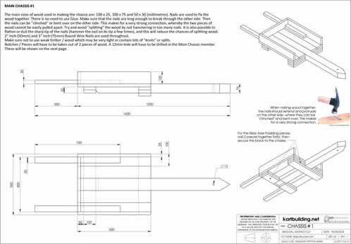 Lawnmower Powered Wooden Go-Kart :: Plans and instructions on how to