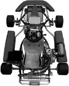 CIA Technical Kart Drawing