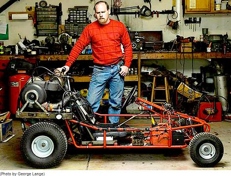 go kart design. DIY Rally (Jet-Powered Go-Kart