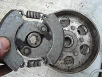 Centrifugal Clutch from a Moped/Scooter