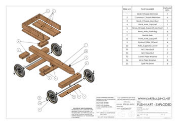 Build Wooden Wooden Go Kart Kits For Kids Plans Download