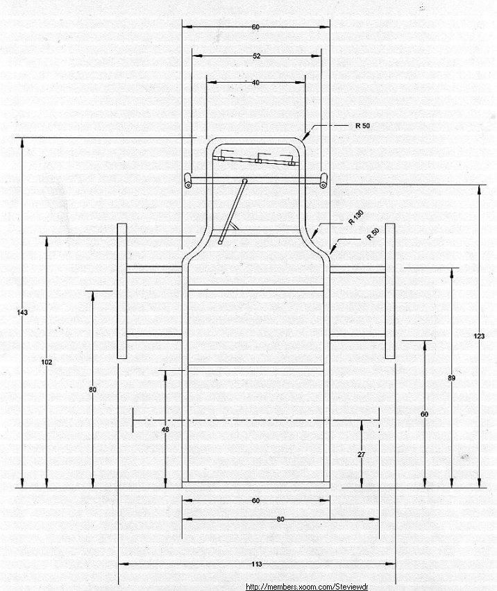 Dorable Go Kart Frame Blueprints Embellishment - Frames Ideas ...