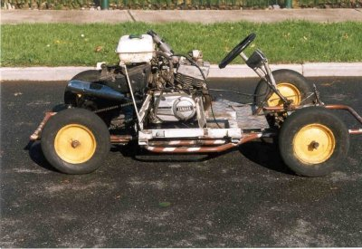 Off-Road Kart as built