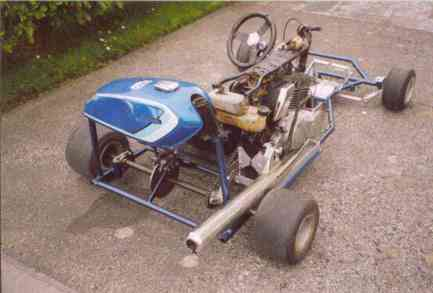 Building a shifter-kart/go-kart (Feasible hobby?) - Honda